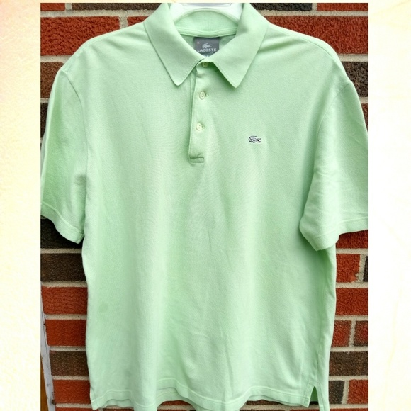 50f10eb0 Lacoste Shirts | Rare Made In Italy Polo Shirt Mens Large | Poshmark